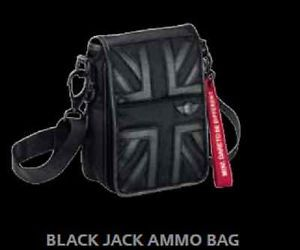 Mini Cooper Black Jack Ammo Shoulder Bag with Carry Strap New