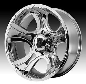 18 inch 18x9 XD Chrome Wheels Rims 5x150 Toyota Tundra Sequoia Lexus LX 470