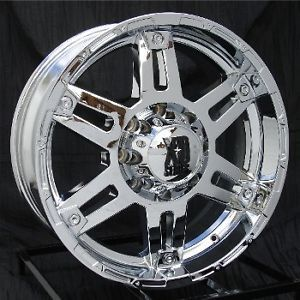 20 inch Chrome Wheels Rims Ford F250 F350 Super Duty 8 Lug Truck 8x170 XD797 Spy
