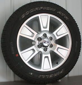 "2013 Ford F150 FX2 FX4 Expedition 20"" Wheels Rims Pirelli Tires New Take Off"