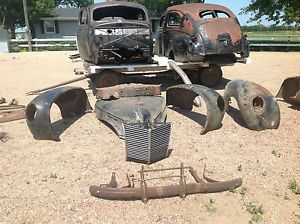 1939 Mercury Ford with Ford Flathead Engine Hot Rod Rat Rod Project Car