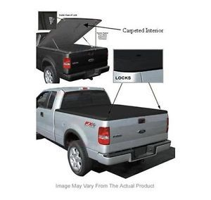 New Tonneau Cover GMC Truck Bed Steel Reinforced Hard Fiberglass Security Built