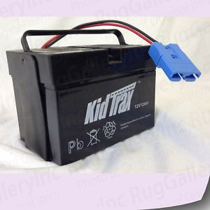 Kid Trax Replacement Battery for 12V Dodge RAM Charger Police Car Mercedes 20hrs