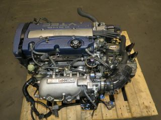 97 01 Honda Accord H23A Engine Prelude 2 3L vtec Blue Top JDM Swap F20B F23A H22