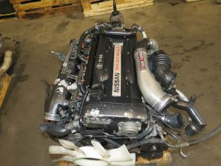 JDM Nissan Skyline GTR r33 RB26DETT Engine 5 Speed AWD Transmission ECU RB26