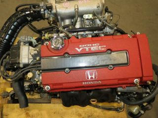 98 01 JDM Honda B18C Type R 1 8L DOHC vtec Engine 5 Speed LSD Transmission S80