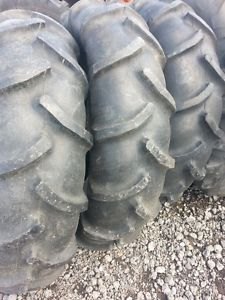 Three Used 14 9x24 Goodyear Farm Tractor Tires Farmall Ford Massey Applicatons