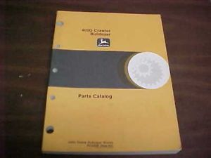 John Deere 400G Dozer Parts Manual