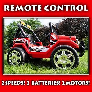 Ride on Electric Toy Car Jeep Power Wheels Battery Operated Remote Control RC