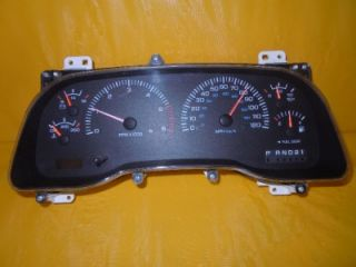 00 01 Dodge 1500 2500 3500 Speedometer Instrument Cluster Dash Panel 106 632