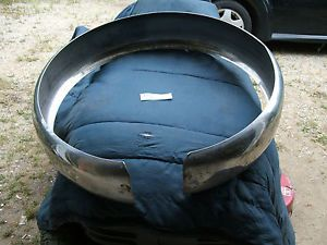 1956 Ford Thunderbird Continental Spare Tire Stainless Steel Tire Tread Cover