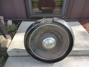 1936 Ford Spare Tire Cover Band Ring Hub Cap