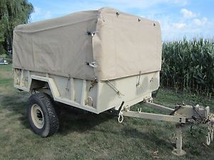 3 4 Ton Utility Cargo Trailer Dump Bed Enclosed Tarp Bows 12V Quad Hunt Camp