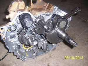 Yamaha Grizzly 700 Engine Case Side