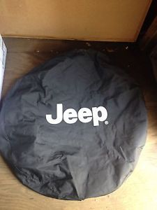 Jeep Wrangler Black Denim Spare Tire Cover 82206926AC