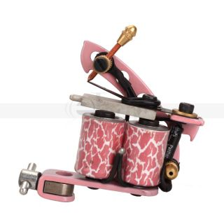 Handmade Beginner Tattoo Machine Liner Shader Gun Pink