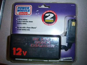 """NWT"" Power Wheels Fisher Price 12V Battery Charger"