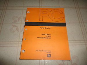 John Deere 210C Loader Backhoe Parts Catalog Manual