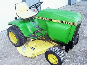 John Deere 317 Garden Tractor for Parts or Repair Engine Is Locked Up