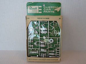 Revell Cadillac V 8 Engine Model Car Parts Pack AMT Johan MPC Monogram