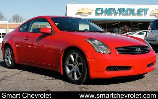 2005 Infiniti G35 Coupe Automatic 2dr Sports Cars Coupes Leather Smart Chevrolet