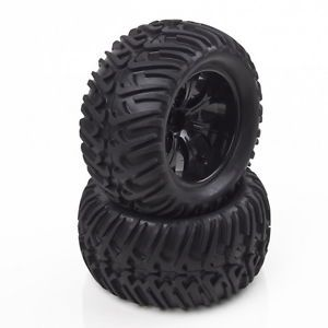 RC 1 10 Tires Wheel Tyre Monster Bigfoot Car Truck 6404
