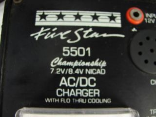 Five Star 5501 RC Car Truck Plane Battery Charger AC DC
