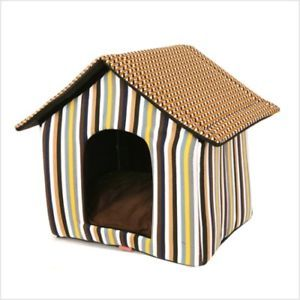 Cute Indoor Dog House Pet House Tent Puppy Carrier Bed E