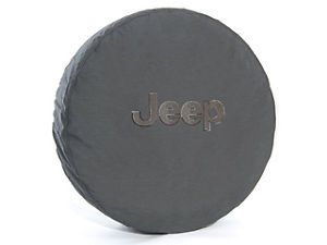 Jeep Wrangler Spare Tire Cover P255 75R17 LT255 75R17 P255 70R18 Black Jeep Logo