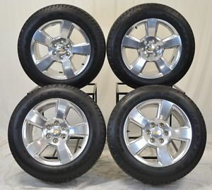 "20"" Chevrolet Chevy Silverado 1500 Truck Wheels Rims Tires Factory 2014"