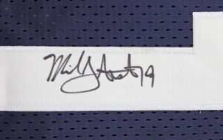 Cowboys Miles Austin Authentic Signed Thanksgiving Jersey Autographed PSA DNA