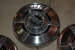 5 1970 1971 1972 Ford Falcon Dog Dish Hubcaps