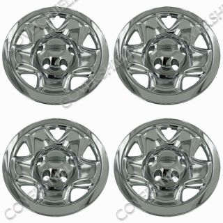 "4 PC Set Tacoma 16"" Chrome Wheel Skins Hubcaps Covers Hub Caps Truck Wheels 6LUG"