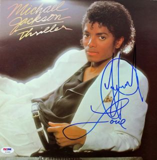 Original Michael Jackson Thriller Album