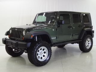 2009 Jeep Wrangler Unlimited Rubicon 4WD 4 Dr Navigation Lifted Hard Soft Top