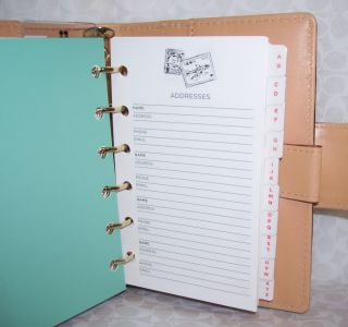 Kate Spade 2011 Small Leather Debra Planner Diary Vine $165