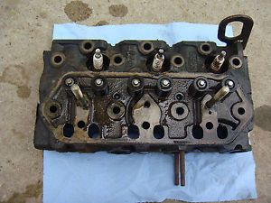 John Deere 322 F912 Yanmar Engine 3TG66 Cylinder Head AM876167