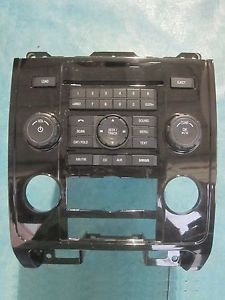 2010 Ford Escape Mariner CD Am FM Radio Console Dash Panel Bezel Mercury