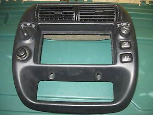 Ford Explorer Radio Bezel Dash Trim w 4WD Switch 98 01 Original Ford Part