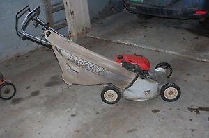 Honda HRS21 Push Lawn Mower Bag Attachment Very Good Conditon
