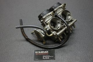 2001 Yamaha Raptor 660 Factory Carbs Carburetors Engine Motor F13