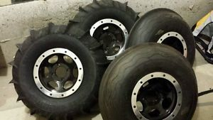 Yamaha Rhino ITP Wheels Paddles Tires Sand Tires Unlimited