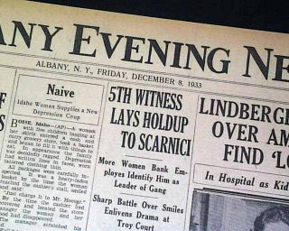 Elmer Layden Four Horsemen Notre Dame Fighting Irish Football HEAD1933 Newspaper