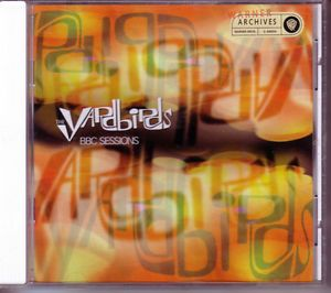 Yardbirds Live at The BBC Sessions 1997 CD 60s British Rock Jimmy Page Jeff Beck 093624669425