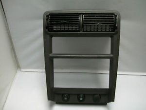 2000 Ford Mustang Radio Trim Bezel