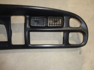 98 99 00 01 Dodge RAM 1500 2500 3500 Dash Bezel Cluster Trim