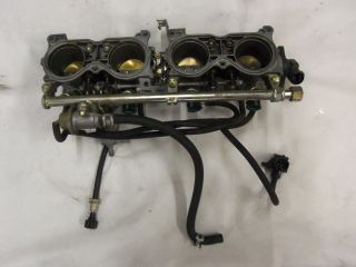 02 03 Honda CBR 954 RR Engine Keihin Throttle Bodys Fuel Rails Carbs Stock