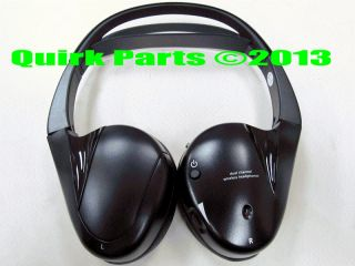 03 13 Buick Cadillac Chevy GMC Hummer Rear Seat Entertainment Headphones New