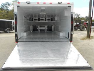 8 5x22 Race Car Enclosed Cargo Trailer Many Extra Options