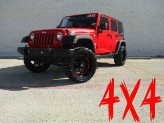 2009 Jeep Wrangler Unlimited 4x4 Lift Kit Low Miles